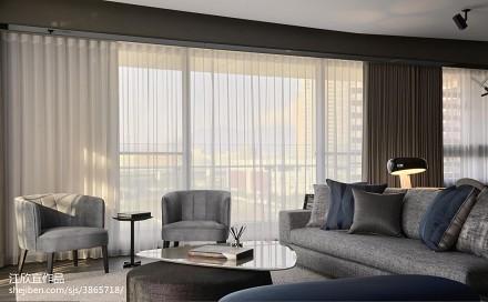 精美大小81平现代二居客厅装修图片