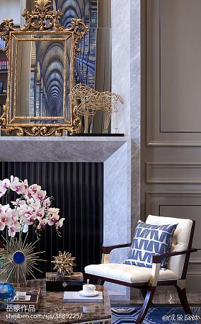 2018客厅欧式装饰图片欣赏样板间欧式豪华家装装修案例效果图
