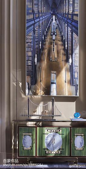 优雅263平欧式样板间实拍图样板间欧式豪华家装装修案例效果图