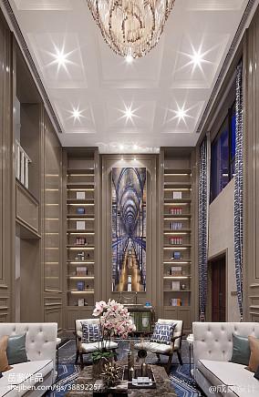 精选客厅欧式欣赏图片大全样板间欧式豪华家装装修案例效果图
