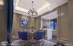 2018餐厅欧式装饰图片样板间欧式豪华家装装修案例效果图