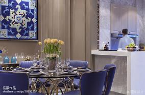 精选餐厅欧式效果图样板间欧式豪华家装装修案例效果图