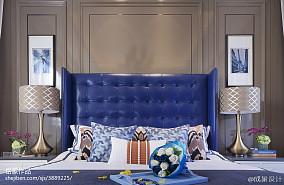 精美欧式卧室实景图片欣赏样板间欧式豪华家装装修案例效果图