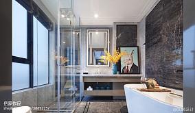 时尚欧式卫浴效果图样板间欧式豪华家装装修案例效果图