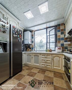 面积122平别墅厨房地中海装修效果图片大全