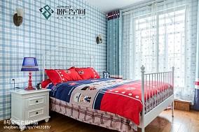 2018面积118平别墅儿童房地中海装修设计效果图片