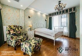 2018129平米地中海别墅卧室装修设计效果图
