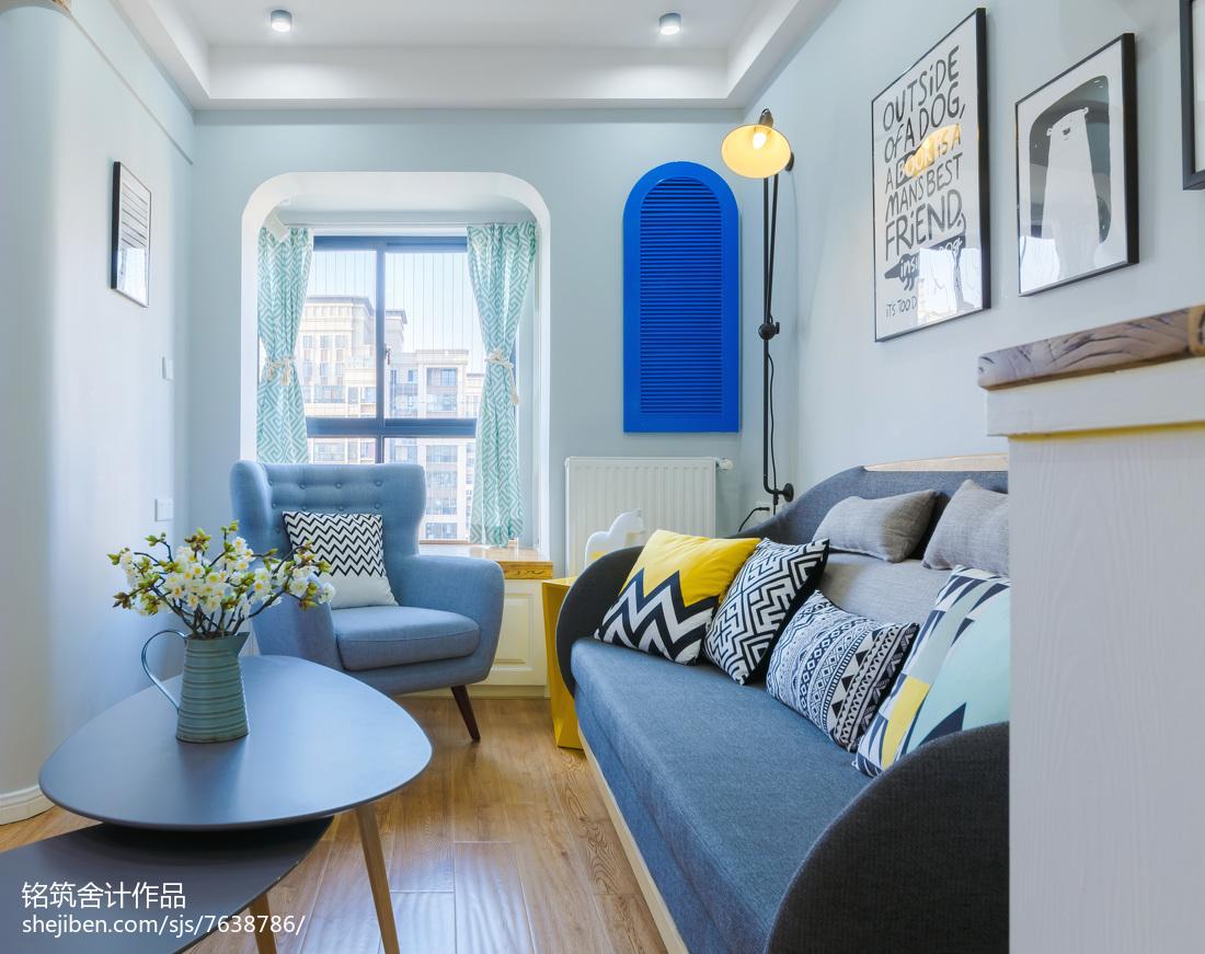 2018精选105平米三居客厅北欧欣赏图片大全客厅