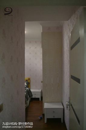 文艺范三室一厅样板间图片