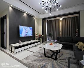 温馨79平现代复式案例图复式现代简约家装装修案例效果图