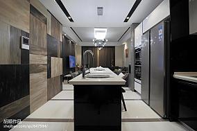 精美77平现代复式餐厅效果图片大全复式现代简约家装装修案例效果图