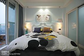 优美70平现代复式卧室装修装饰图复式现代简约家装装修案例效果图