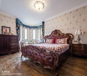 2018精选面积103平欧式三居卧室装修设计效果图片大全