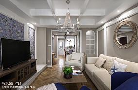 精美143平米四居客厅实景图片四居及以上欧式豪华家装装修案例效果图
