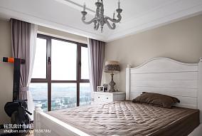 温馨129平法式四居设计图四居及以上欧式豪华家装装修案例效果图