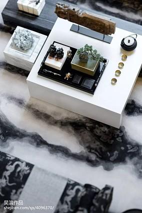 平中式别墅客厅图片大全别墅豪宅中式现代家装装修案例效果图