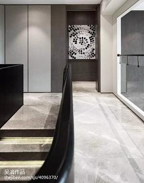 精选别墅过道中式效果图片大全别墅豪宅中式现代家装装修案例效果图