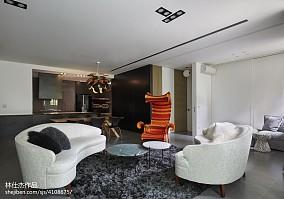 2018大小91平欧式三居客厅装修效果图片大全