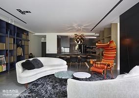 平米三居客厅欧式效果图片三居欧式豪华家装装修案例效果图