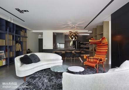 201892平米三居客厅欧式效果图片