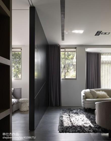 热门101平米三居客厅欧式装修欣赏图片大全
