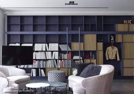 热门109平方三居客厅欧式装修欣赏图片大全