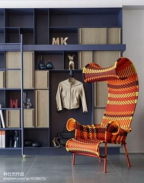 优雅117平欧式三居客厅实拍图三居欧式豪华家装装修案例效果图