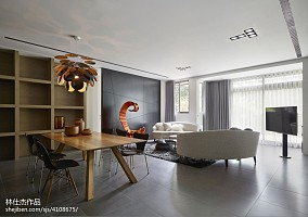 平米三居客厅欧式实景图片欣赏三居欧式豪华家装装修案例效果图