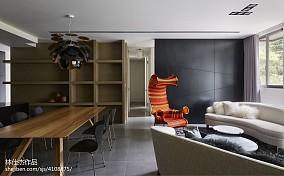 热门94平米三居客厅欧式装修实景图片大全三居欧式豪华家装装修案例效果图