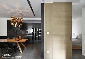 简洁94平欧式三居餐厅装饰美图三居欧式豪华家装装修案例效果图