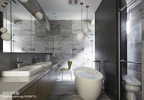 平米三居卫生间欧式装修图片大全三居欧式豪华家装装修案例效果图