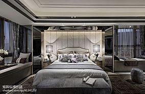 精选中式卧室效果图片大全样板间中式现代家装装修案例效果图