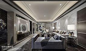 2018客厅中式装修效果图片欣赏样板间中式现代家装装修案例效果图
