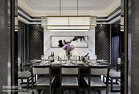 热门餐厅中式装修设计效果图片样板间中式现代家装装修案例效果图