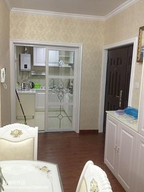 简洁65平欧式二居厨房案例图81-100m²二居欧式豪华家装装修案例效果图