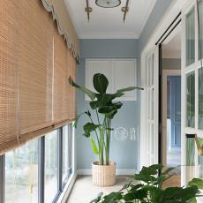 精美133平米四居阳台美式装修效果图