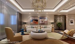精美面积84平小户型休闲区复古装修图