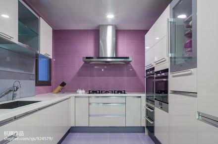 2018现代复式厨房欣赏图片大全餐厅