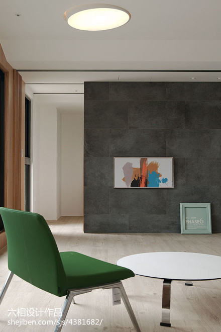 精选面积81平小户型客厅简约装修效果图