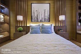2018三居卧室中式装修效果图三居中式现代家装装修案例效果图