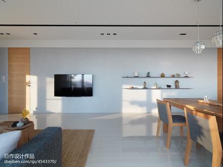 热门日式二居客厅装饰图片欣赏