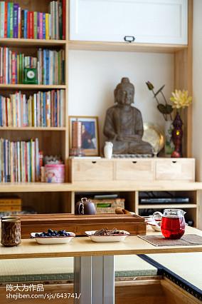 热门小户型客厅日式装饰图
