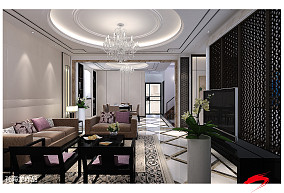三居室内客厅设计装修图片