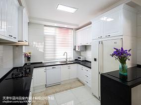 精选面积138平别墅厨房欧式装修欣赏图片