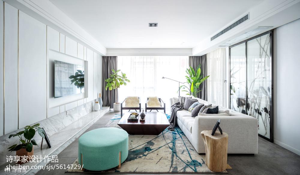 清新中式风格客厅装修客厅