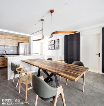 极简中式风格餐厅装修厨房