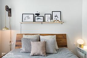 热门面积89平北欧二居卧室装修效果图片