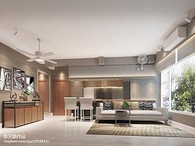 质朴70平现代三居客厅美图