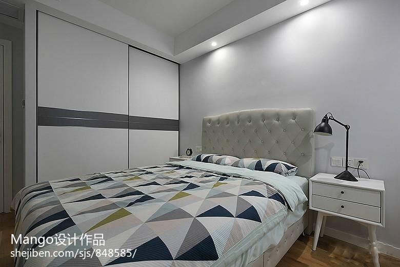 热门卧室宜家装修效果图卧室现代简约卧室设计图片赏析
