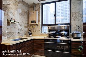 2018新古典四居厨房装修设计效果图片